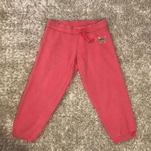 Victoria's Secret Pink Capri Sweatpants